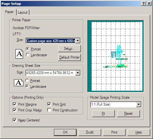 Turbocad 2d Prezeranie A Tlac Vykresov Model Web